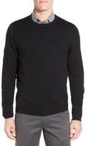 Nordstrom Cotton & Cashmere Crewneck Sweater (Regular & Tall)