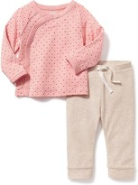 Old Navy Kimono-Wrap Top & Legging Set for Baby