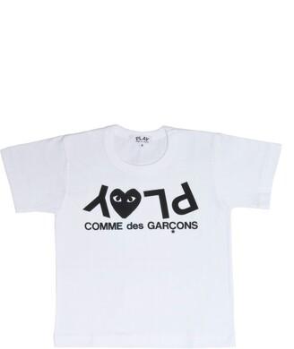 Comme des Garcons Upside Down Logo T-Shirt