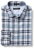Banana Republic Camden-Fit Non-Iron Multi Checkered Shirt