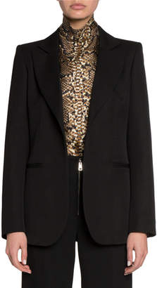 Victoria Beckham Wool Fitted Jacket