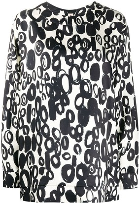 Marni Abstract Drops long-sleeve top