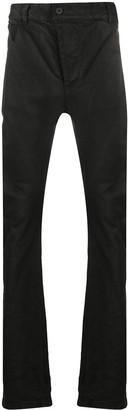 11 By Boris Bidjan Saberi Coated Finish Drop-Crotch Jeans