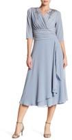 Sangria Embellished Dress