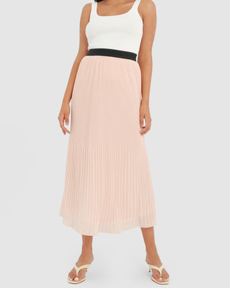 Forcast Women's Pleated skirts - Cora Pleated Maxi Skirt - Size One Size, 6 at The Iconic