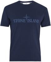Stone Island Cotton-jersey logo T-shirt