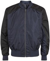 Tiger Of Sweden Navy Shell Bomber Jacket