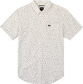 RVCA Men's Angles Short Sleeve Woven Shirt