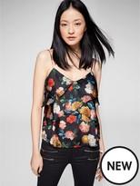 MANGO Floral Cami Top