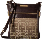 Tommy Hilfiger Savanna - Monogram Jacquard North/South Crossbody