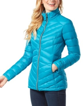 Free Country Down Light Weight Quilted Puffer Coat