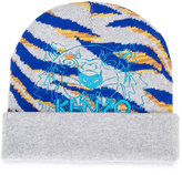Kenzo embroidered logo knitted beanie