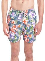 Saks Fifth Avenue COLLECTION Floral Printed Swim Shorts