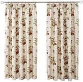 Dorma Antique Floral Pencil Pleat Curtains