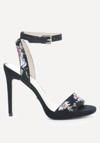 Bebe Ingram Embroidered Sandals