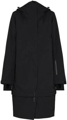TEMPLA Detachable Hem Oversized Coat