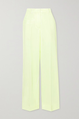 3.1 Phillip Lim Two-tone Twill Pants - Pastel yellow