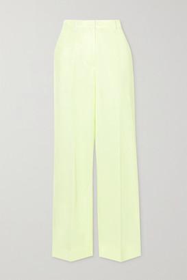3.1 Phillip Lim - Two-tone Twill Pants - Pastel yellow