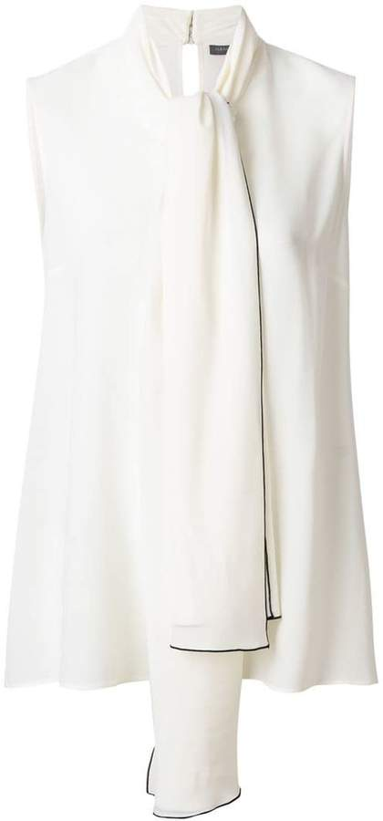 Alexander McQueen sleeveless blouse