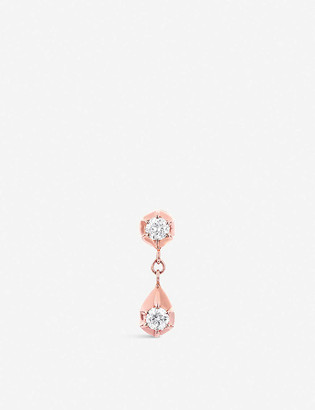 The Alkemistry x Carbon & Hyde Belle 14ct rose-gold and diamond earring