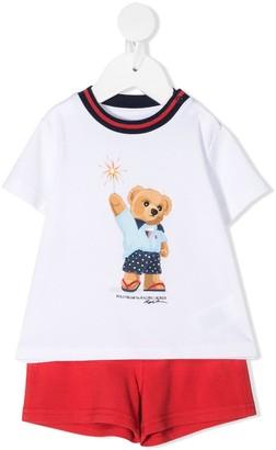 Ralph Lauren Kids Teddy Bear Pajamas