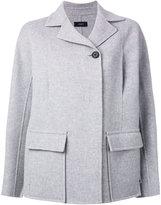 Joseph short coat - women - Viscose/Cashmere/Wool - 38