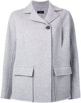 Joseph short coat - women - Viscose/Cashmere/Wool - 42
