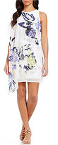Antonio Melani Bruno Printed Scuba Crepe Shift Dress
