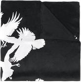 Ann Demeulemeester birds print scarf - women - Silk - One Size
