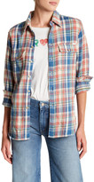 Mother The Frenchie Frenchie Plaid Shirt
