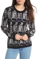 Paul & Joe Sister Intarsia Cat Sweater
