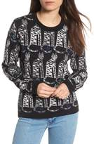 Paul & Joe Sister Women's Intarsia Cat Sweater