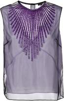 Marc Jacobs tulle embellished tank top