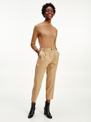 Tommy Hilfiger Tommy Icons Virgin Wool Tapered Trousers