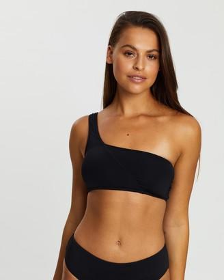 Seafolly Active One Shoulder Bandeau Bikini Top