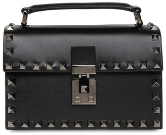 Valentino Small Leather Crossbody Bag W/ Studs