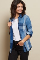 Garage Indigo Boyfriend Shirt