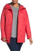 Columbia Plus Size Women's 'Splash A Little' Modern Classic Fit Waterproof Rain Jacket