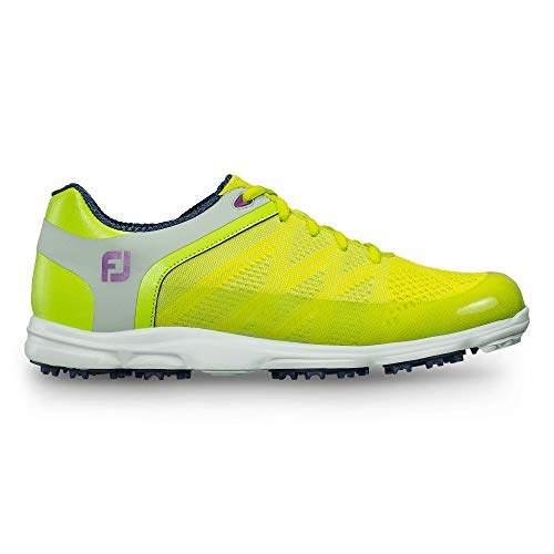 62166dbd35fe2 FootJoy Women's Sport SL-Previous Season Style Golf Shoes M Lime