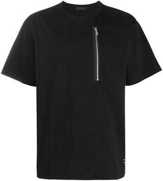 Undercover zip patch pocket T-shirt
