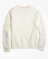 Brooks Brothers French Terry Raglan Crewneck Sweatshirt