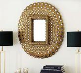 Pottery Barn Peacock Mirror