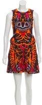 McQ Sleeveless Printed Mini Dress