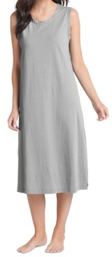 Jockey Sleeveless Long Cotton Sleeveless Nightgown
