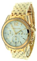 Michael Kors MK5836 Pressley Rose Golden Stainless Steel Crystal Quartz Watch