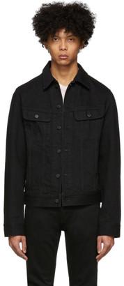 Moussy Black Regular Denim Jacket