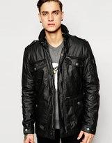 Esprit Coated Field Jacket - Black