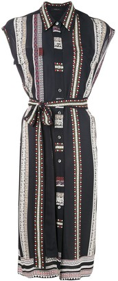 Derek Lam Provincal belted shirt dress