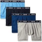 Izod Men's 4pk Cotton Contour Pouch Boxer Brief