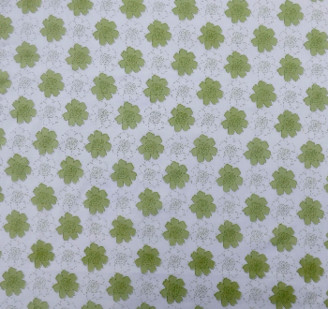 Indigo & Wills - Tangier Lime Voile Curtain Panel - Green